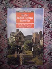 1993 Map of English Heritage Properties