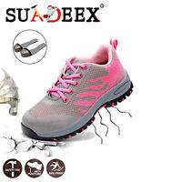Scarpe antinfortunistica Donna da lavoro Scarpe da ginnastica Sneakers sportive