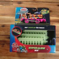 Thomas & Friends Track Master Hyper Glow NIA Light Up The Track Battery Operated