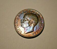 1928 R Italy 10 Centesimi Aka Bumble Bee Gem Bu Coin #19124