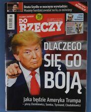 DONALD TRUMP mag.FRONT cover 2016 Andy Murray,Franz Joseph I,Bob Marley