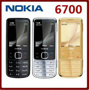 Unlocked Nokia 6700 Classic Cell Phone GPS 5MP 6700c GSM/WCDMA Keyboard