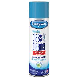 GLASS FOAMING CLEANER 19 oz CAN CLEAN SHINE, FRESH SCENT(ONE CAN) PRIORITY SHIPG