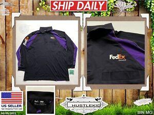 Official FEDEX Ground Employee STAN HERMAN Uniform POLO Long Sleeve Men XLarge🔥