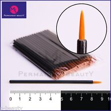 Permanent Make-up Lippenpinsel Zeichenstift Lidstrich-pinsel Einwegstift 100 St.