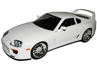 Toyota Supra Weiss Brian´s Paul Walker The Fast and the Furious 1/18 Jada Mode..