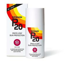 RIEMANN P20 Sun filter Spray (Once a Day) Spf 50 200 ml (Water Resistant) NEW