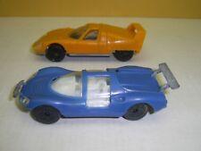 2 plastic toys ESTETYKA 1:43 - BRE SAMURAI and FERRARI DINO BERLINETTA - Poland