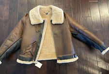 Eastman Leather Perry Mixed Batch  B-3 Flying Jacket Horsehide Shearling  SZ 44
