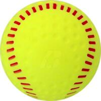 3 - 12 X BADEN FEATHERLITE TRAINING SOFTBALLS PASSION FOR A BETTER GAME
