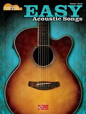 EASY ACOUSTIC SONGS STRUM & SING GUITAR CHORDS & LYRIC SHEET MUSIC SONG BOOK