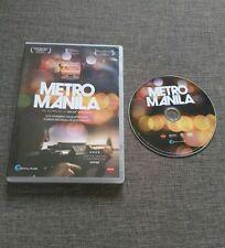 DVD METRO MANILA - FESTIVAL FILMS - 115 MIN - 2012 - JOHN ARCILLA - RARE