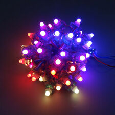 1000x WS2801 Digital 12mm RGB LED Pixel Square Module String Addressable IP68 5V