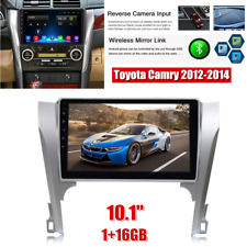 """1+16GB 10.1"""" Android 10.1 Car Stereo Radio MP5 Player Fit For Toyota Camry 12-14"""