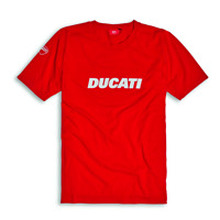 DUCATI CORSE DUCATIANA MENS RACING T-SHIRT RED ALL SIZES 987690505