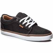 VANS Chukka Low (Denim) Black/White Classic Shoes MEN'S 7 WOMEN'S 8.5