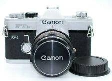 [N.MINT TESTED] Canon FTb QL 35mm SLR Film Camera with FD 50mm F/1.8 Japan # 523