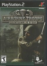 Airborne Troops: Countdown to D-Day (2005) Brand New Factory Sealed USA PS2