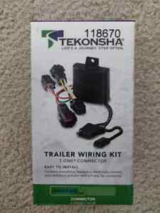 Trailer Wiring Harness Kit For 14-19 Nissan Pathfinder Infiniti QX60 NEW