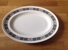 Wedgwood Asia Pattern R4288 (Black)1Large Oval Serving Platter 35cm by 27cm.