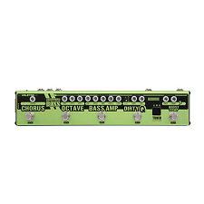 Valeton Dapper Bass Effects Strip Tuner Boost Copressor Amp Octave Chorus Loop