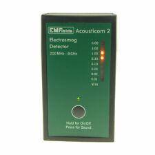 Acousticom 2 Radio Frequency RF Microwave Detector Radiation EMF Meter 0.2~8GHz