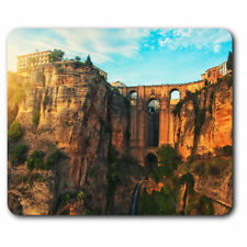 Computer Mouse Mat - Puente Nuevo New Bridge Spain Office Gift #16271
