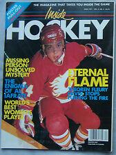 1991 INSIDE HOCKEY MAGAZINE THEOREN FLUERY Calgary Flames