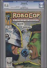 Robocop #9 CGC 9.6 1990 Marvel Comic Based upon the Movie: Price Drop!