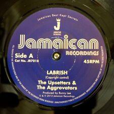 "NEW 7"" Upsetters, Aggrovators - Labrish  /  Cornell Campbell - Power Pressure"