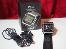 Garmin Epix GPS Watch w/ Base Maps & 2x charge cable