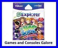 NEW! LeapPad, Leap Pad LeapSchool Reading Game Leapster Explorer GS Leapfrog