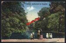 Berlin-AK-Farbe-Goldfischteich im Tiergarten-Döberitz-Feldpost-1916-1.wk