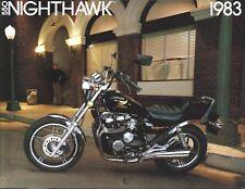 Motorcycle Brochure - Honda - 550 - Nighthawk - 1983 (DC668)