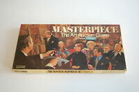 Vintage Masterpiece Board Game The Game of Art Auctions Complete Parker Games