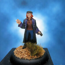 Liz Sherman painted miniature, Hellboy Heroes Steve Jackson Games.