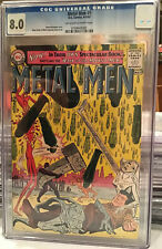 METAL MEN #1 (Apr-May 1963 DC) CGC 8.0  OW/W Pages