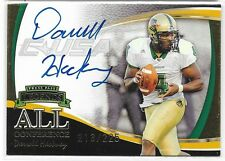 2006 PRESS PASS LEGENDS DARRELL HACKNEY ALL CONFERENCE ON-CARD AUTO GOLD #/225