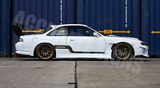 NISSAN 200SX S14 SIDE STRIPES (PAIR) CAR DECALS GRAPHICS DRIFT S14A