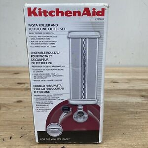 Kitchenaid Pasta Roller and Fettuccine Cutter Set Model KFETPRA Used Once