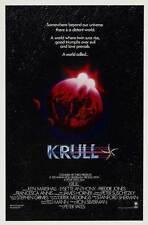 KRULL Movie POSTER 11x17 B Ken Marshall Lysette Anthony Freddie Jones Francesca