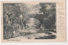 Dairy Brridge, Rokeby Early 1902 Postcard, B588