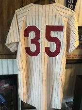 Phillies Game Used/ Worn 1966 Leonard Calendin Flannel Jersey