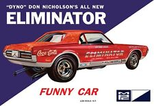 1:25 MPC DYNO DON NICHOLSON'S COUGAR ELIMINATOR FUNNY CAR  Plastic Model Kit