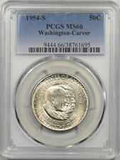 1954-S WASHINGTON-CARVER COMMEMORATIVE HALF DOLLAR PCGS MS-66