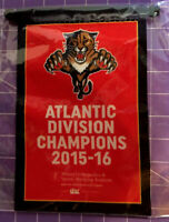 NHL Florida Panthers 2015-16 Atlantic Division Champions Commemorative Banner