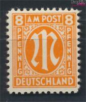 Bizone (Alliierte Besetzung) 21C geprüft postfrisch 1945 AM-Post (9082302
