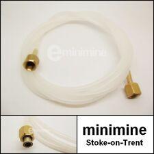CLASSIC Mini OLIO MANOMETRO NYLON TUBO 5 PIEDI LUNGO 1/8 BSPF thread