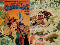 DC COMICS | THE NEW GUARDIANS | 1988 | VARIOUS ISSUES