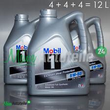 12L MOBIL1 FS X1 PEAK LIFE 5W-50 Nachfolger Motoröl 5W50 MOTORENÖL MOBIL 1 3x4L